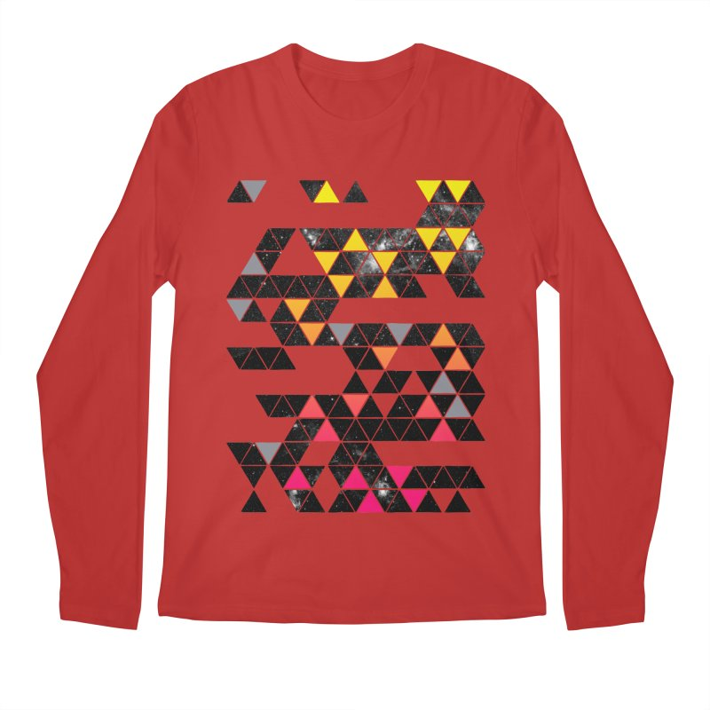 Gradient Space Men's Regular Longsleeve T-Shirt by expo's Artist Shop