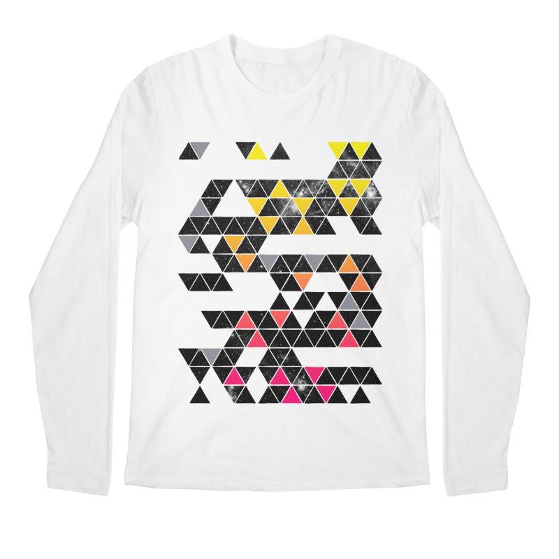 Gradient Space Men's Regular Longsleeve T-Shirt by expo's Artist Shop