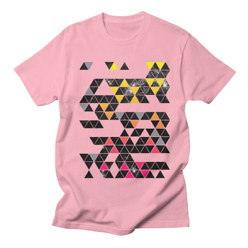 Gradient Space Men's T-shirt by expo's Artist Shop