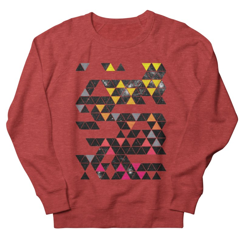 Gradient Space Women's French Terry Sweatshirt by expo's Artist Shop