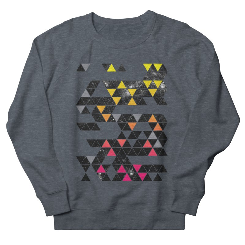 Gradient Space Men's French Terry Sweatshirt by expo's Artist Shop