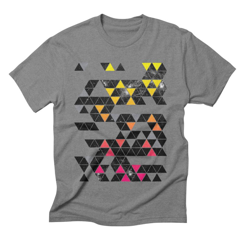 Gradient Space Men's Triblend T-shirt by expo's Artist Shop