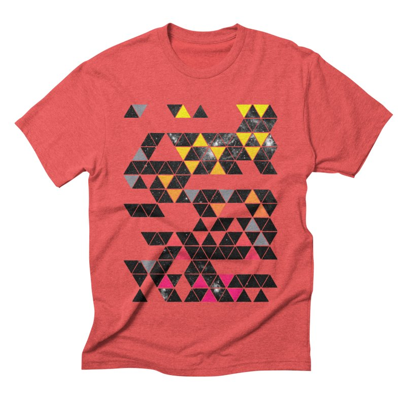 Gradient Space Men's Triblend T-Shirt by expo's Artist Shop