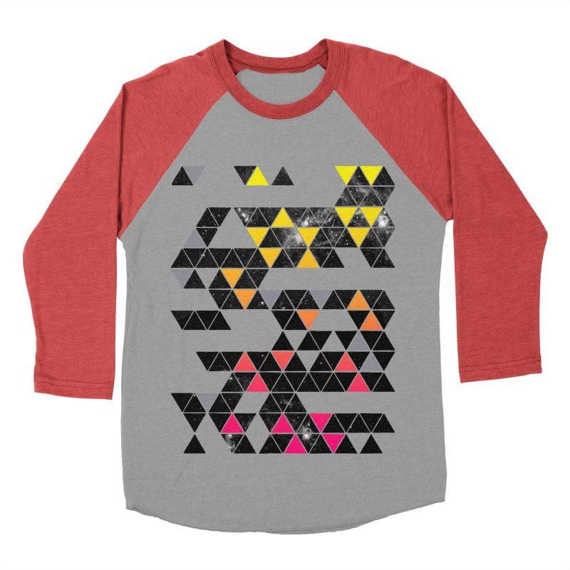 Gradient Space Men's Baseball Triblend T-Shirt by expo's Artist Shop