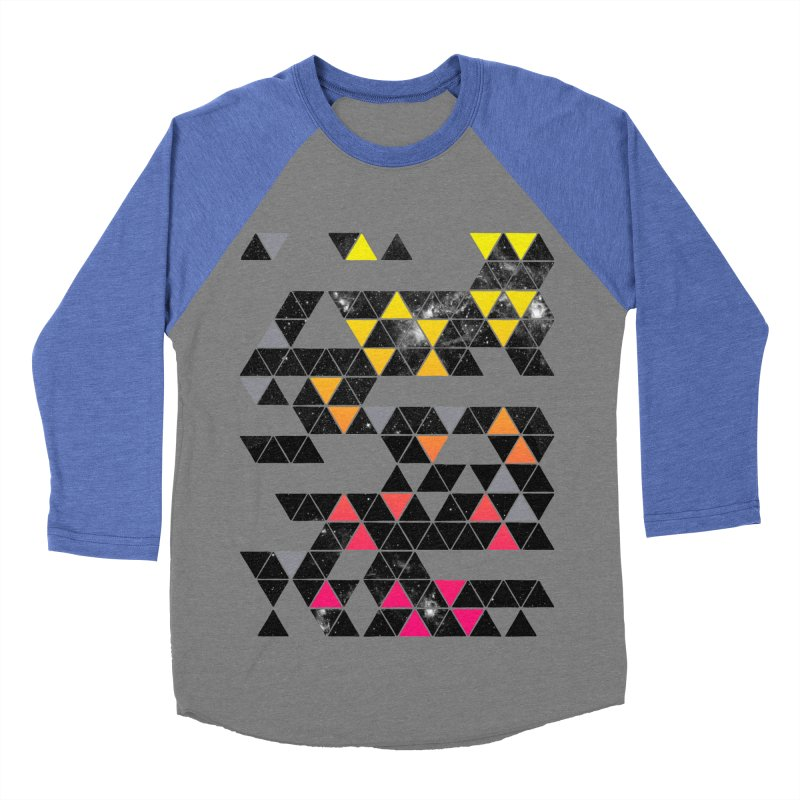 Gradient Space Men's Baseball Triblend Longsleeve T-Shirt by expo's Artist Shop