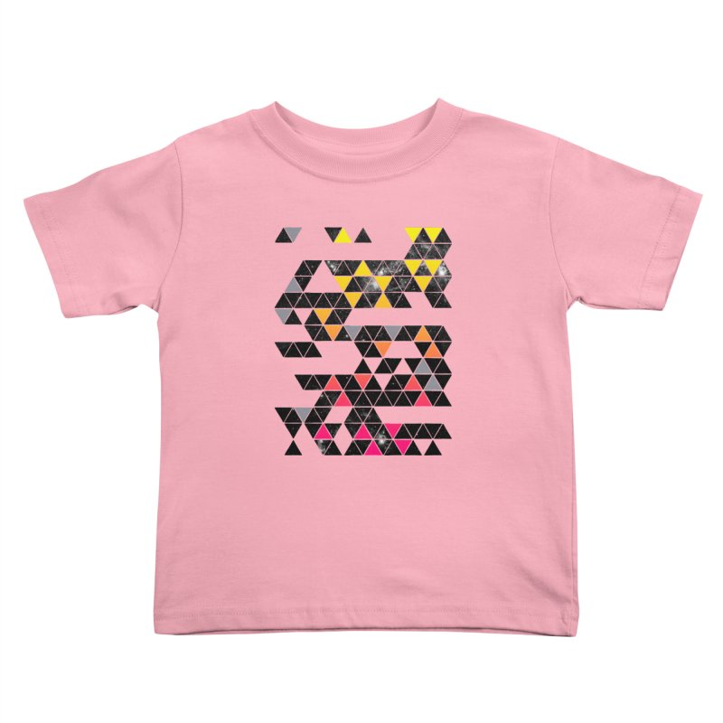 Gradient Space Kids Toddler T-Shirt by expo's Artist Shop
