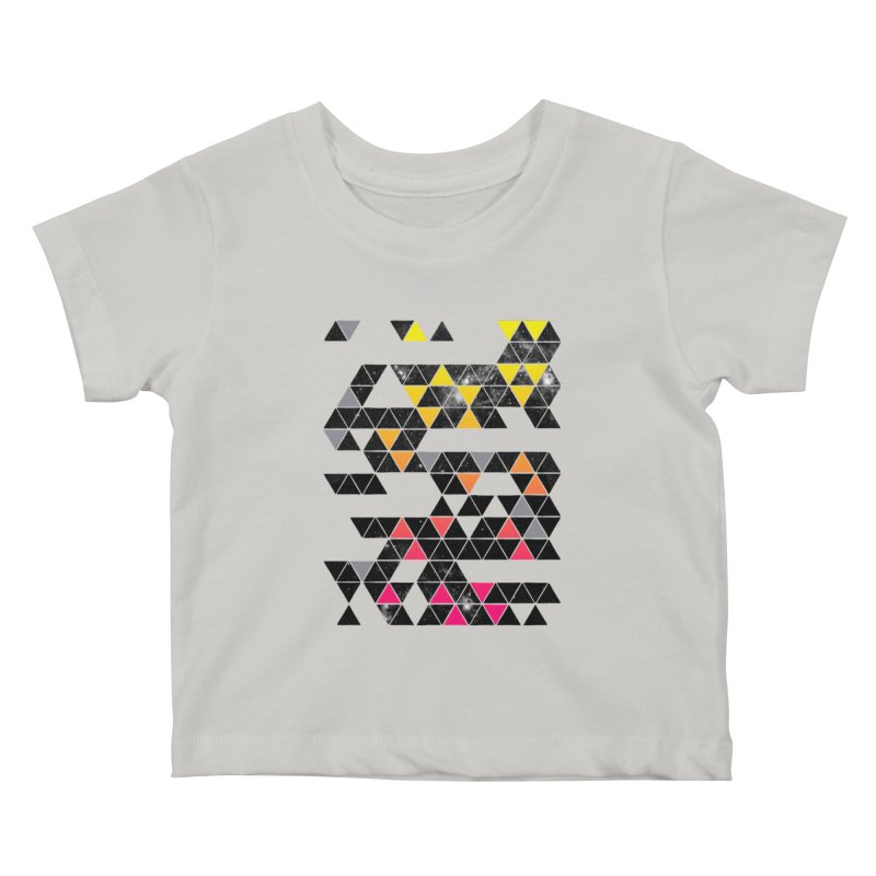 Gradient Space Kids Baby T-Shirt by expo's Artist Shop