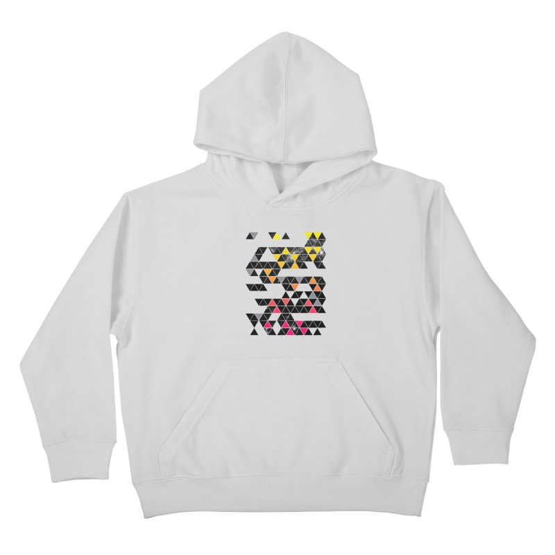 Gradient Space Kids Pullover Hoody by expo's Artist Shop
