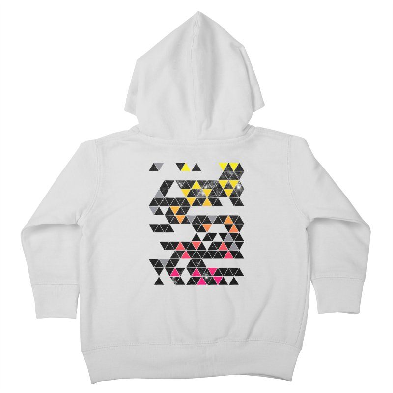 Gradient Space Kids Toddler Zip-Up Hoody by expo's Artist Shop