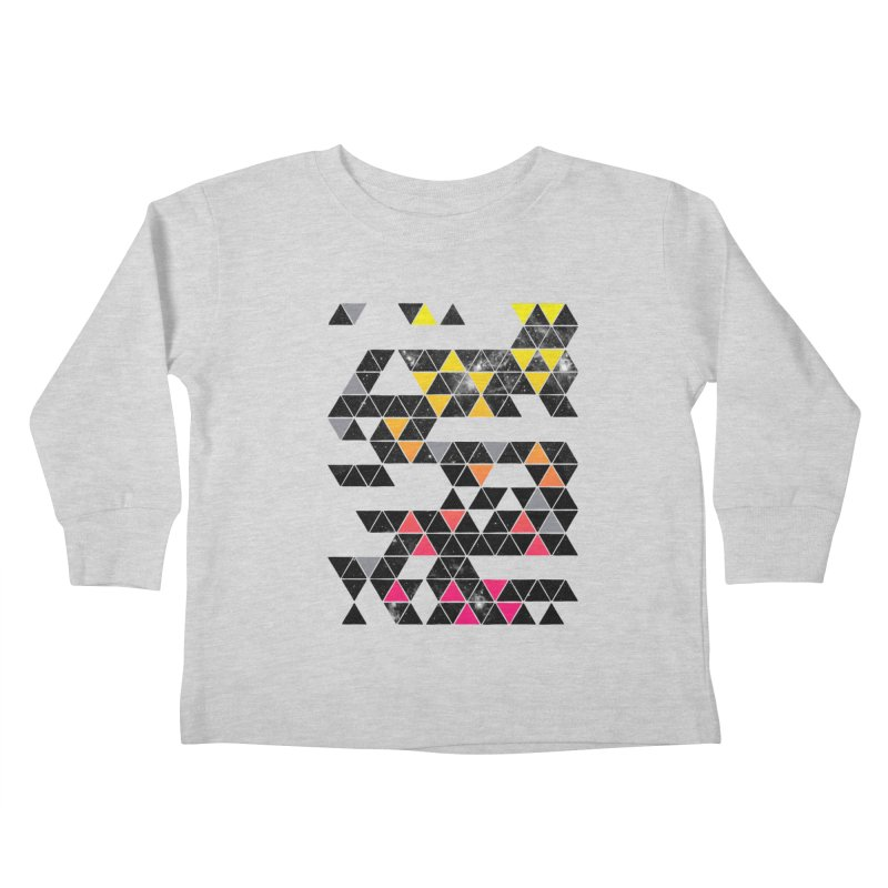 Gradient Space Kids Toddler Longsleeve T-Shirt by expo's Artist Shop