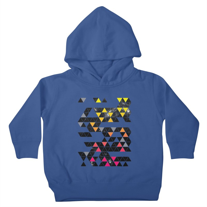 Gradient Space Kids Toddler Pullover Hoody by expo's Artist Shop