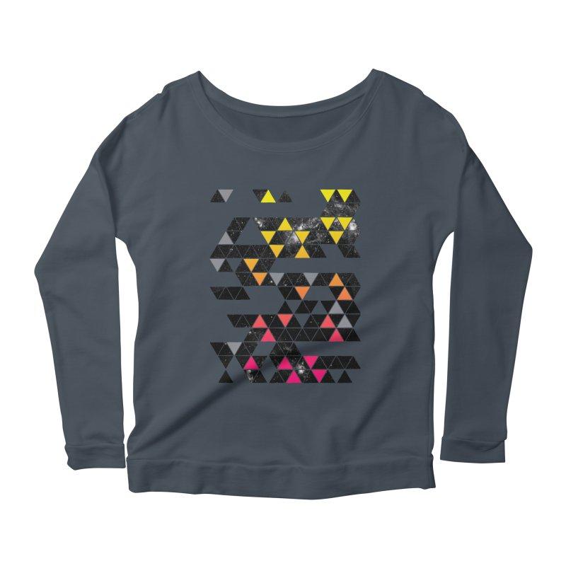 Gradient Space Women's Scoop Neck Longsleeve T-Shirt by expo's Artist Shop