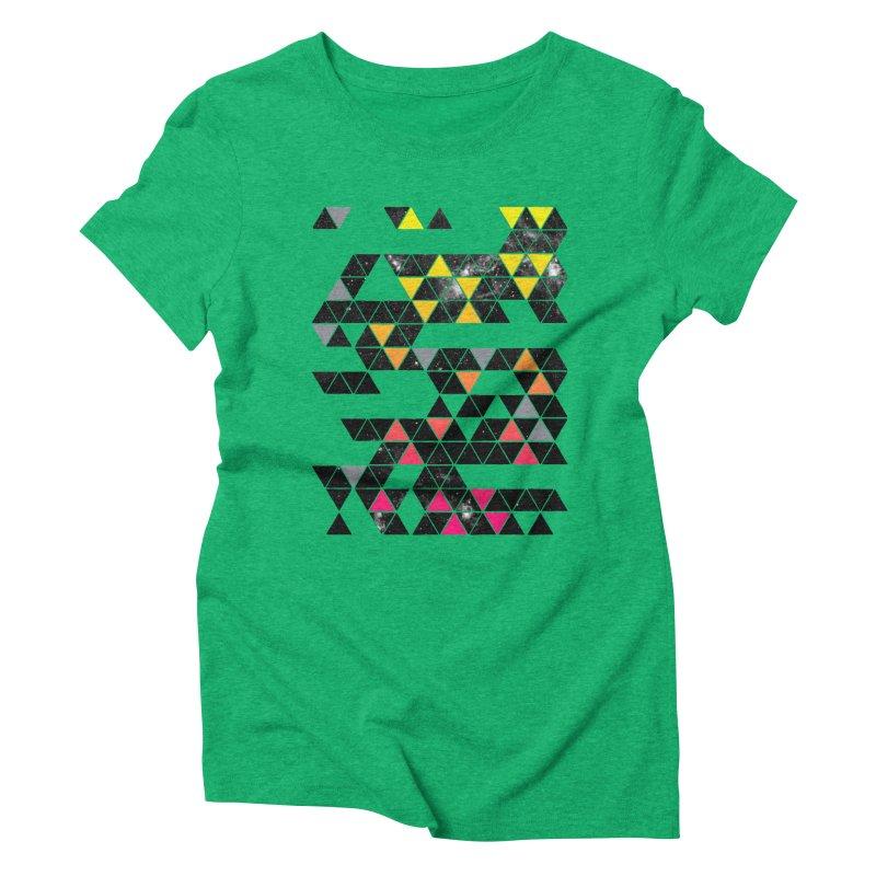 Gradient Space Women's Triblend T-Shirt by expo's Artist Shop
