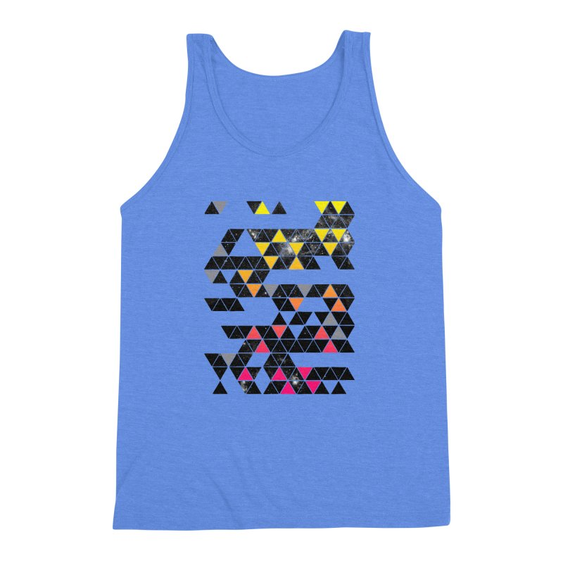 Gradient Space Men's Triblend Tank by expo's Artist Shop