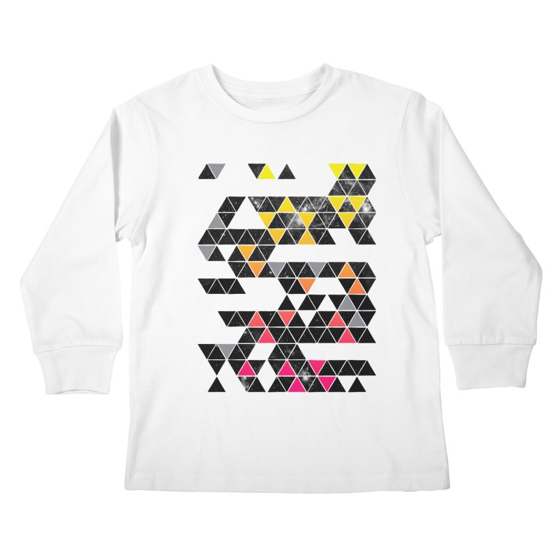 Gradient Space Kids Longsleeve T-Shirt by expo's Artist Shop