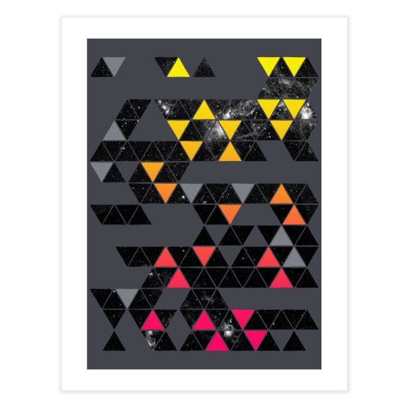Gradient Space Home Fine Art Print by expo's Artist Shop