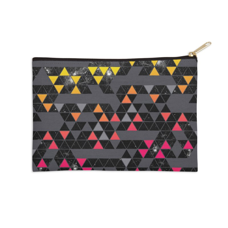 Gradient Space Accessories Zip Pouch by expo's Artist Shop