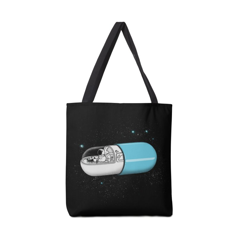 Space Capsule Accessories Bag by expo's Artist Shop
