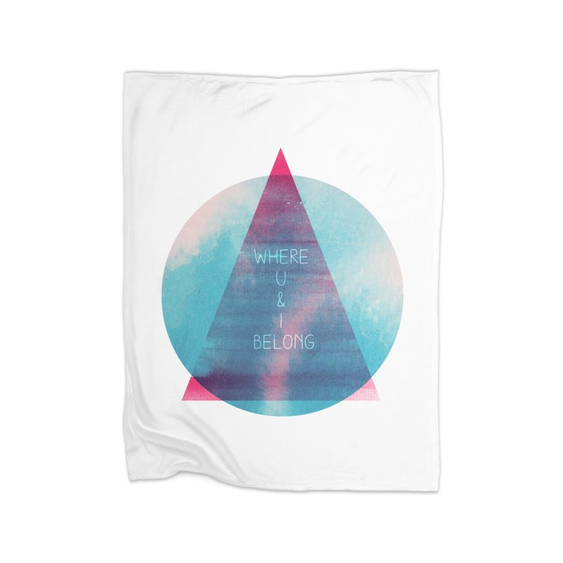 U & I Home Blanket by expo's Artist Shop