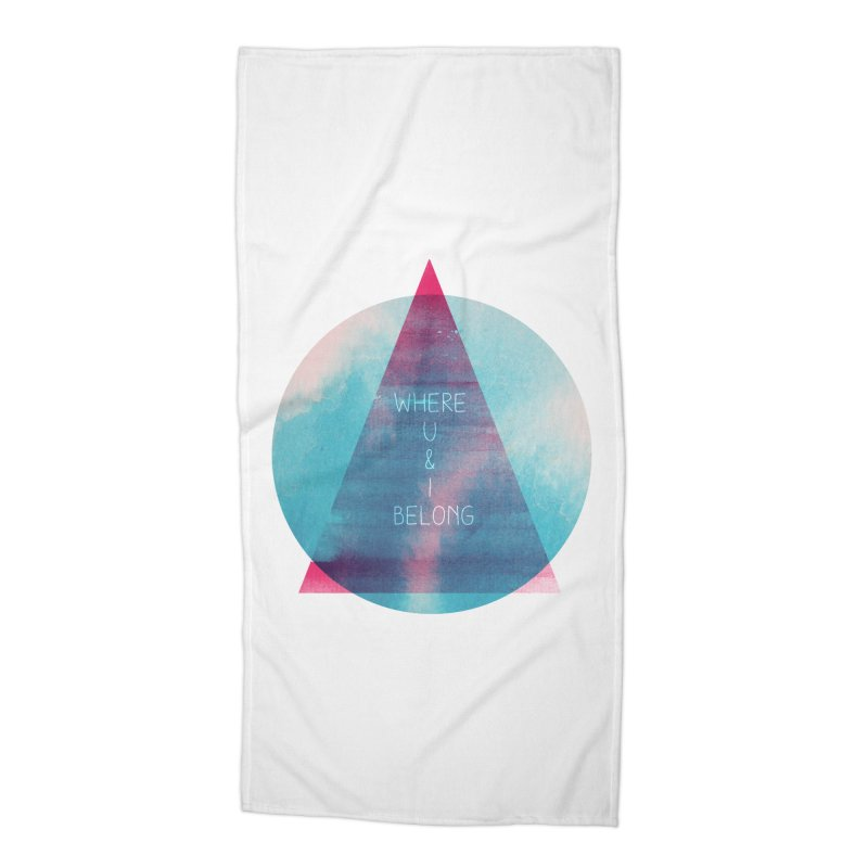 U & I Accessories Beach Towel by expo's Artist Shop