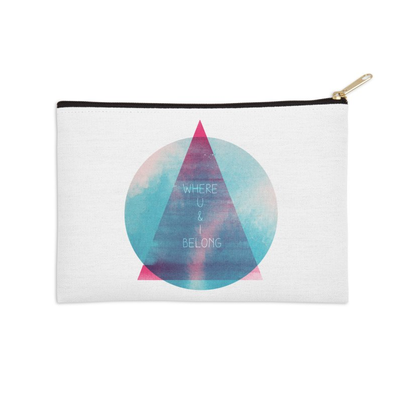 U & I Accessories Zip Pouch by expo's Artist Shop