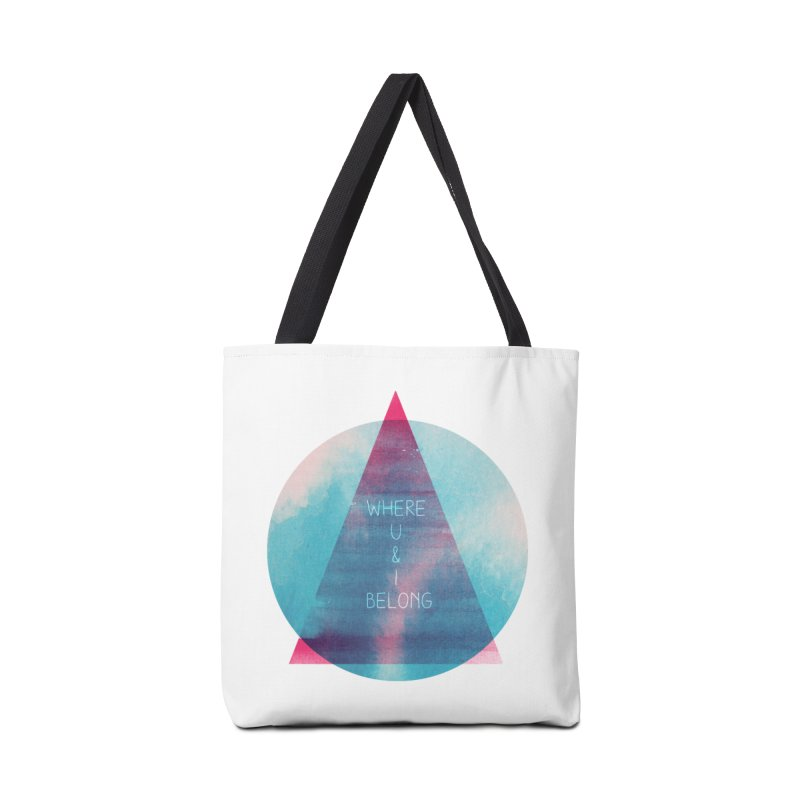U & I Accessories Bag by expo's Artist Shop