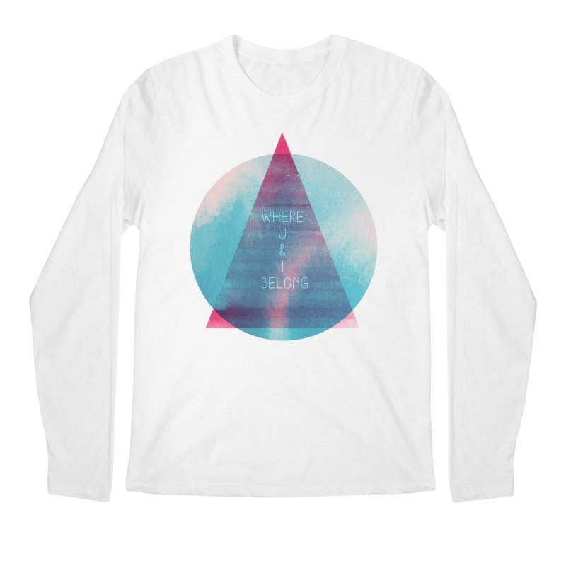 U & I Men's Longsleeve T-Shirt by expo's Artist Shop