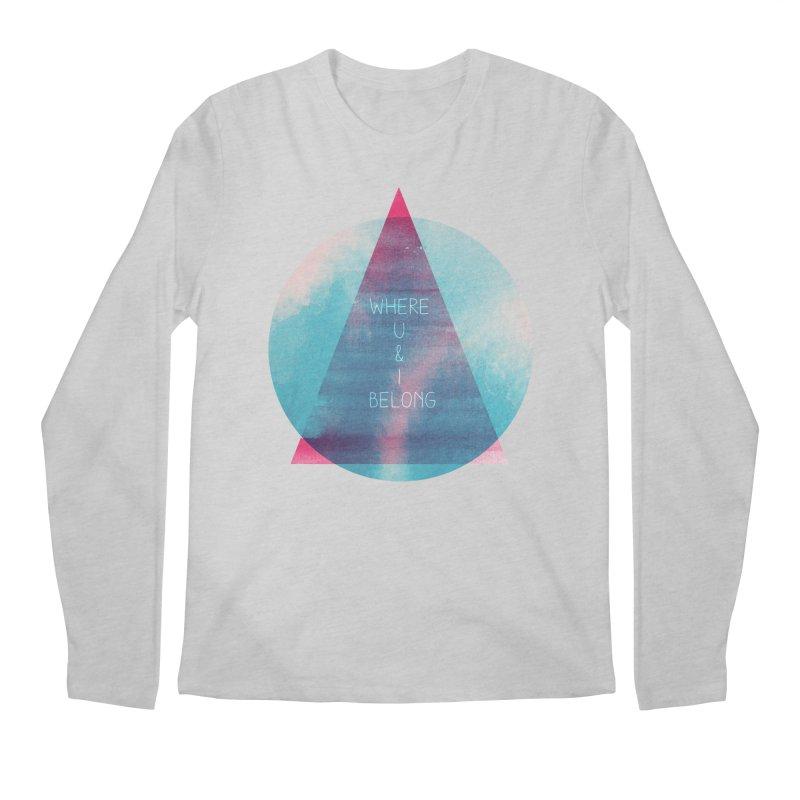 U & I Men's Longsleeve T-Shirt by expo's Artist Shop