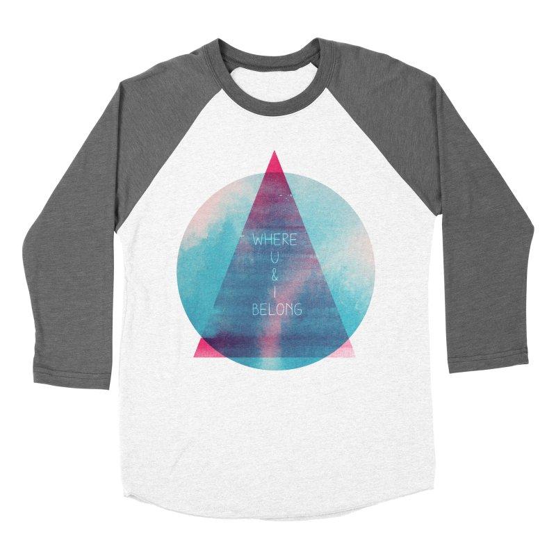 U & I Women's Baseball Triblend T-Shirt by expo's Artist Shop