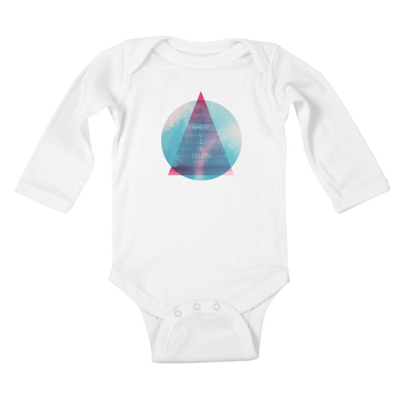 U & I Kids Baby Longsleeve Bodysuit by expo's Artist Shop