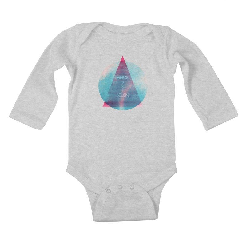 U & I Kids Baby Longsleeve Bodysuit by expo's Artist Shop