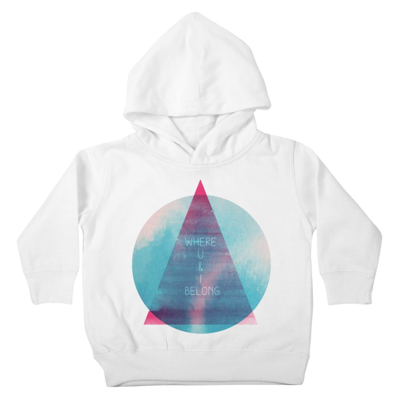 U & I Kids Toddler Pullover Hoody by expo's Artist Shop