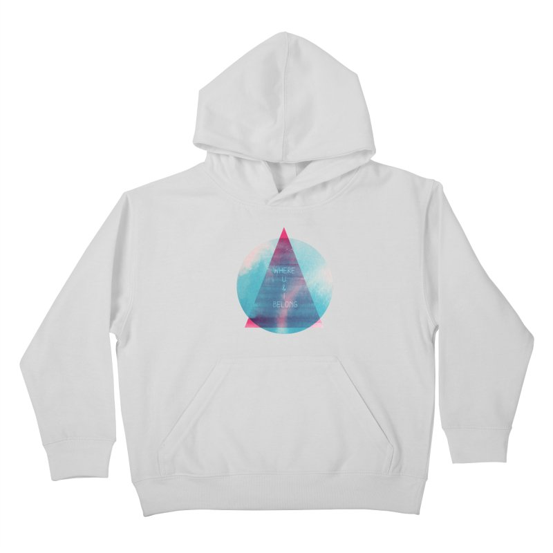 U & I Kids Pullover Hoody by expo's Artist Shop