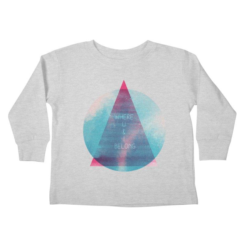 U & I Kids Toddler Longsleeve T-Shirt by expo's Artist Shop