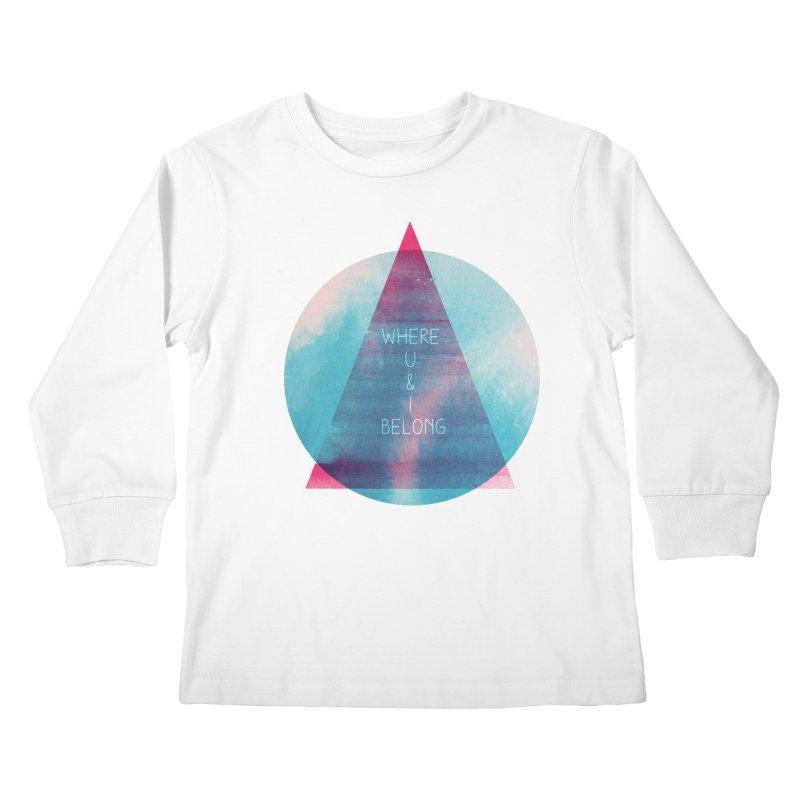 U & I Kids Longsleeve T-Shirt by expo's Artist Shop