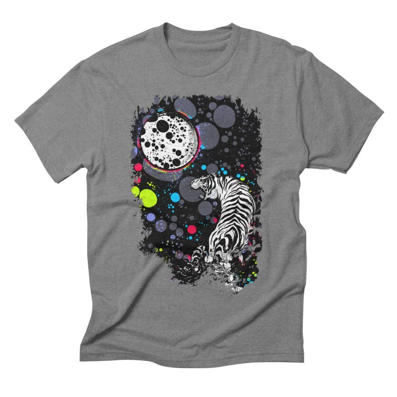 The Moon And The White Tiger   by expo's Artist Shop