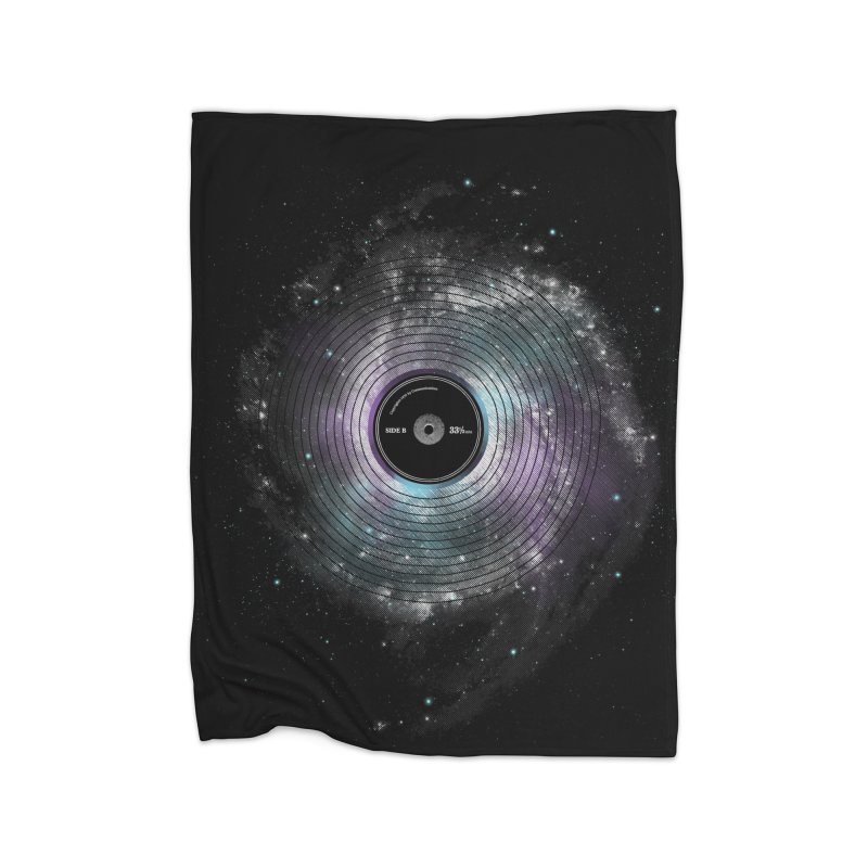 Space Music Home Blanket by expo's Artist Shop