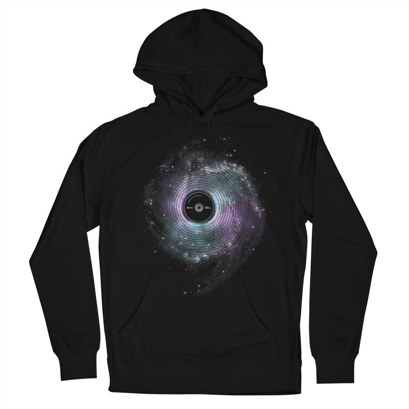 Space Music Women's French Terry Pullover Hoody by expo's Artist Shop