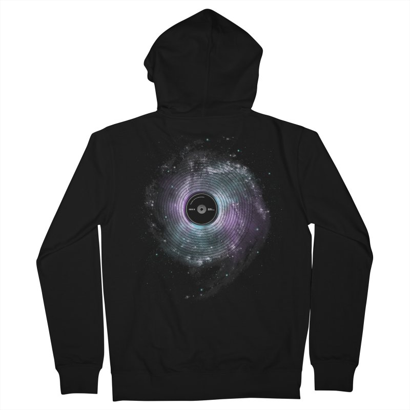 Space Music Men's Zip-Up Hoody by expo's Artist Shop