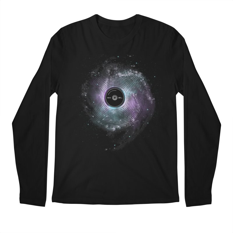 Space Music Men's Regular Longsleeve T-Shirt by expo's Artist Shop
