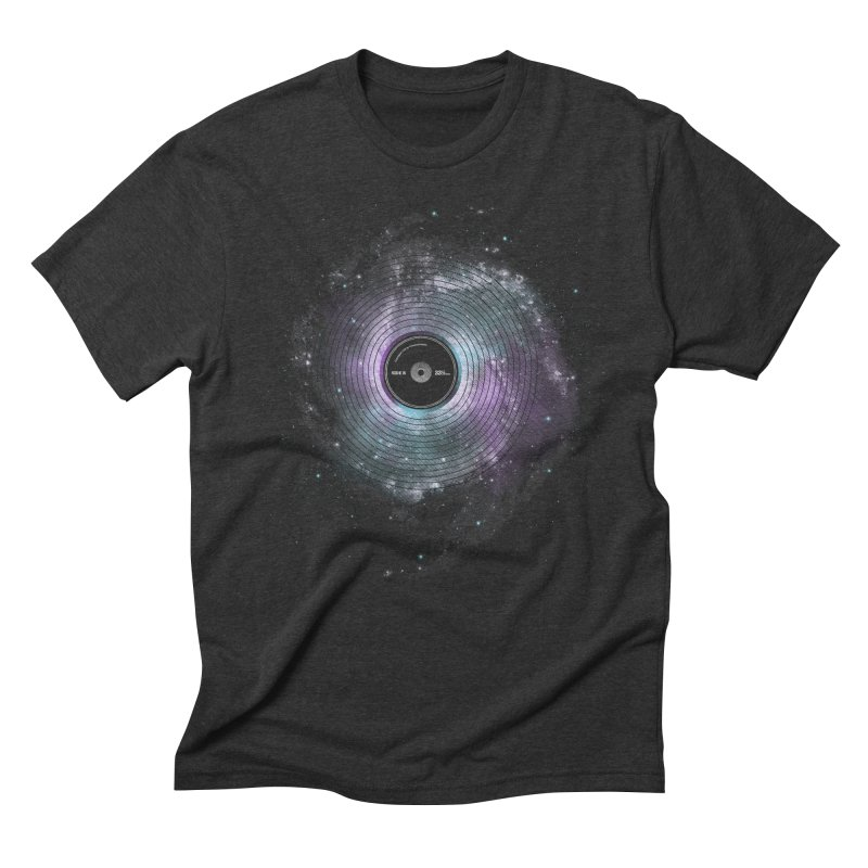 Space Music Men's Triblend T-Shirt by expo's Artist Shop