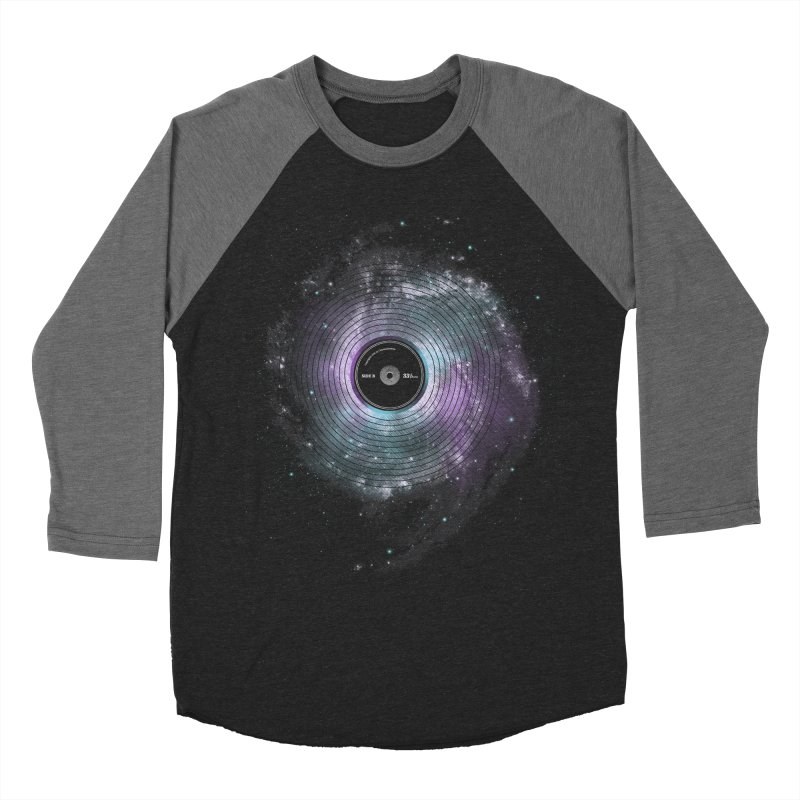 Space Music Men's Baseball Triblend T-Shirt by expo's Artist Shop