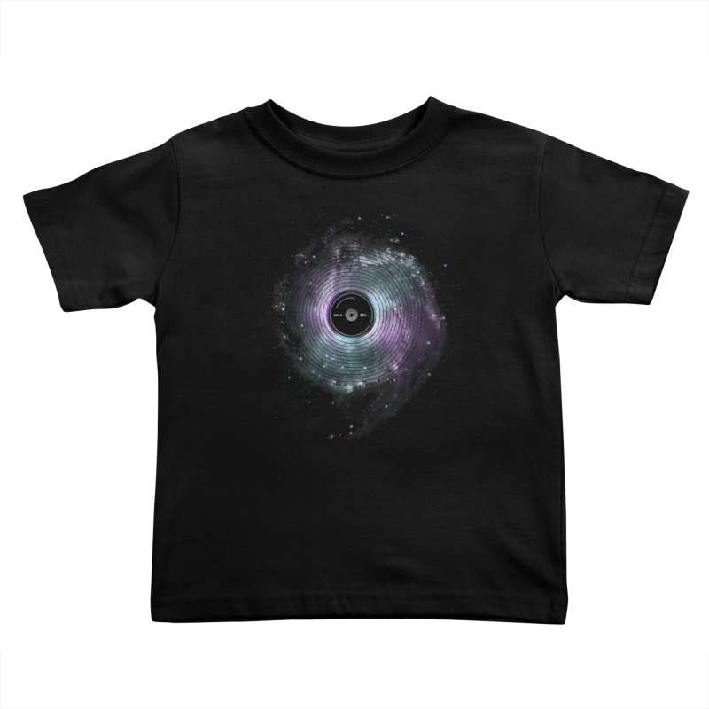 Space Music Kids Toddler T-Shirt by expo's Artist Shop