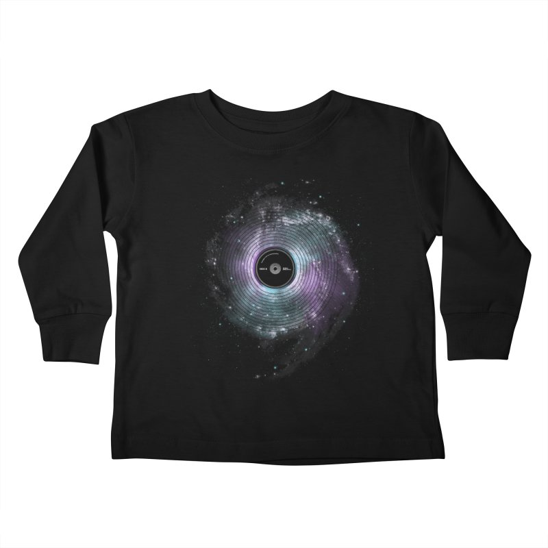 Space Music Kids Toddler Longsleeve T-Shirt by expo's Artist Shop