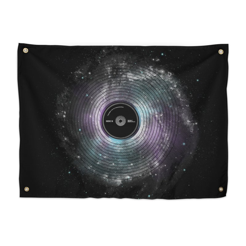 Space Music Home Tapestry by expo's Artist Shop