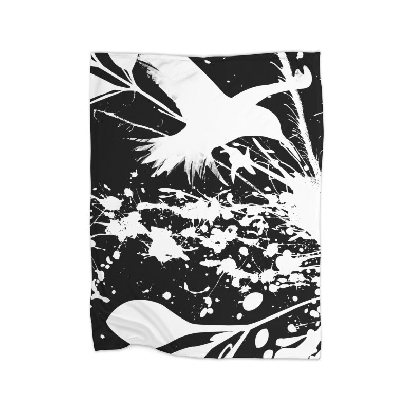 Nature's Matter [ .BLACK. ] Home Blanket by expo's Artist Shop