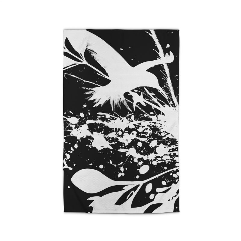 Nature's Matter [ .BLACK. ] Home Rug by expo's Artist Shop