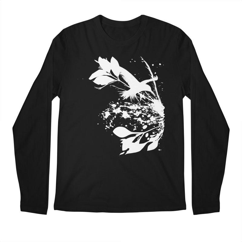 Nature's Matter [ .BLACK. ] Men's Longsleeve T-Shirt by expo's Artist Shop
