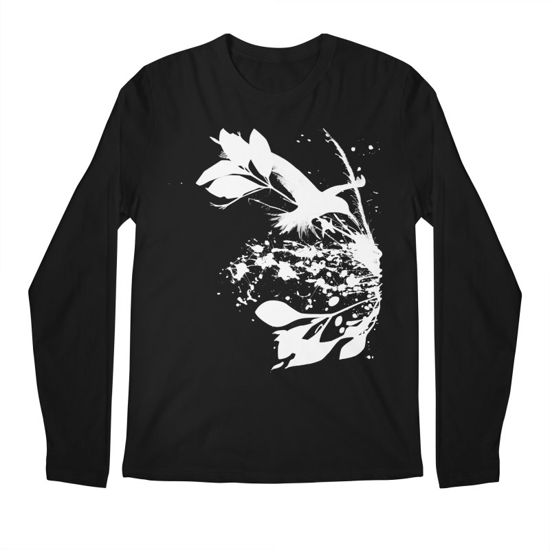 Nature's Matter [ .BLACK. ] Men's Longsleeve T-Shirt by expo's Artist Shop