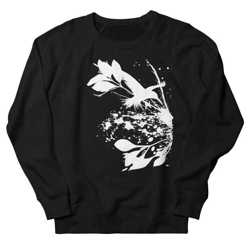 Nature's Matter [ .BLACK. ] Men's French Terry Sweatshirt by expo's Artist Shop